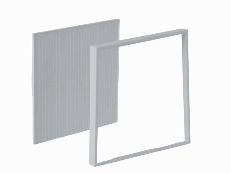 MASKA ZA VENTILATOR KUPATILSKI MTG A100M PVC RAM ZA PLOČICE BELA